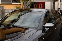 RS4ワイパーアーム塗装 - hide's garage