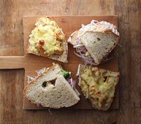ツナサンドとチーズトースト - Nasukon Pantry