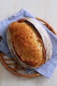 酒種でライ麦のふんわりカンパーニュとオーブン温度計 - Takacoco Kitchen