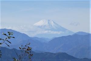 11/16 きょうの富士山 - そらいろのパレット