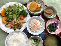鮭の茸ソテー★(^^♪・・・・・700円ランチ - 日だまりカフェ