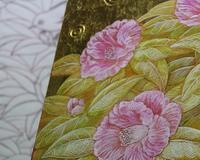 30号椿 - 絵と庭