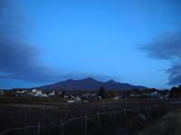 美しい山々 - 八ヶ岳 革 ときどき くるみ
