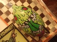 Frog Lure painted by  Kustom Baits 'H' - 店主のマニアック日記