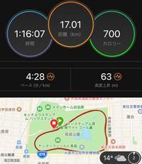 大阪マラソン8日前の練習 - My ブログ