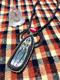 【マクラメ&ヘンプ】#199プラクルアンのマクラメネックレス - Shop Gramali Rabiya (SGR)