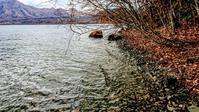 2018.11.17 支笏湖.初雪 - river side