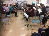 第二あすなろ作業所ビバ祭 - クロマチック・ハーモニカ教室クラブ活動