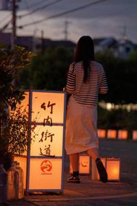 スナップ~竹内街道灯路祭り - katsuのヘタッピ風景