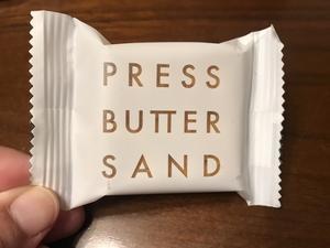 Press Butter Sand というお菓子を食べたよ! - よく飲むオバチャン☆本日のメニュー