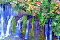 白糸の滝俯瞰 - 風の香に誘われて 風景のふぉと缶