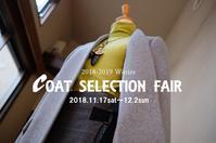 """2018-2019 Winter V-neck  No collar Coat styling...11/18sun"" - SHOP ◆ The Spiralという館~カフェとインポート雑貨のある次世代型セレクトショップ~"