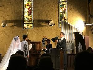 結婚式 やっぱりいいねえ。愛について再認識して参りました。 - パームツリー越しにgood morning        アロマであなたの今に寄り添うブログ