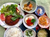 キャベツと茸のミンチカツ★(^^♪・・・・・700円ランチ - 日だまりカフェ
