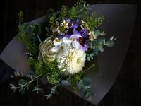 ご友人の結婚式にミニブーケ。2018/11/17。 - 札幌 花屋 meLL flowers