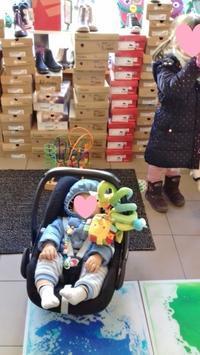 KITAのフリマでお買い物&ファーストシューズのセミオーダー☆ - ドイツより、素敵なものに囲まれて②