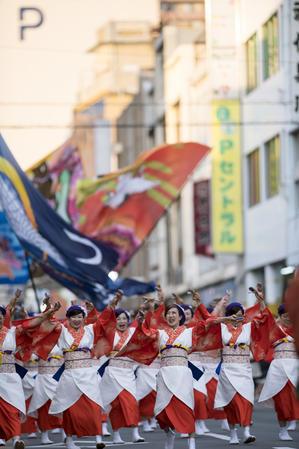 第22回よさこい東海道 『つる姫』 - tamaranyのお散歩2