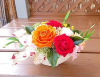 ご結婚祝い花☆ - お花とマインドフルネスな時間 ~花工房GreenBell~