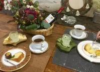 フォークアートとフラワーアレンジレッスン - coco diary 山口県 お花と絵と楽しいティータイム