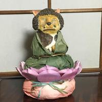 阿弥陀如来と珈琲と夏目漱石 - ズームでバッチリ