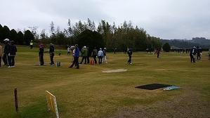 年金者組合グラウンドゴルフ練習 -