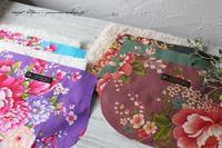 『台湾花布で冬支度』あったかファーと秋冬布合わせで新作制作中♪ - neige+ 手作りのある暮らし