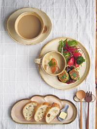クリームシチューの朝ごはん - 陶器通販・益子焼 雑貨手作り陶器のサイトショップ 木のねのブログ