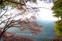 紅葉を迎えた水郡線 - 鉄道日記コム