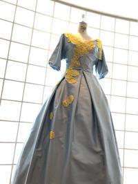 La vie en France Vl  Robe mimosa - J'aime la couture  !!