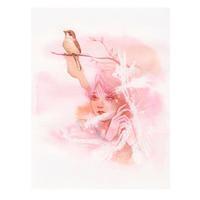 〈イラスト詩歌5〉 「 十二月 」 尾形亀之助 - LoopDays     Sachiko's Illustration blog