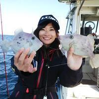 【大鱗】カワハギ+ティップランエギング! - まんぼう&大鱗 釣果ブログ