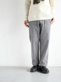 ARANFATIGUE PANTS - CORDUROY - 『Bumpkins putting on airs』