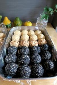 ゴマ団子&月餅 - KuriSalo 天然酵母ちいさなパン教室と日々の暮らしの事