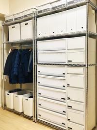 スチールラック収納の全貌!無印・IKEA・セリアで家族も自分も快適な収納に。 - イロトリドリノ暮らし