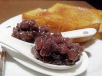 自家製の厚切りトーストあんバタで♡ - 菓子と珈琲 ラランスルール 店主の日記。