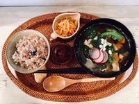 11月27日(火)の営業時間は12:00~16:00です。本日のお味噌汁は「すり流し」もございます♪ - miso汁香房(ロジの木)