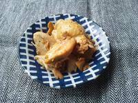 手羽元で鶏ダシ作り、&残った茹で手羽元で、香ばしニンニク醤油焼き - Minha Praia