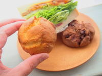 2種の甘食とサンドウィッチ:三ッ星製パン(青森市) - 津軽ジェンヌのcafe日記