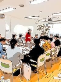 手描きタッチアプリでレポート 箕輪直子先生大阪セミナー2018 - 手染めと糸のワークショップ