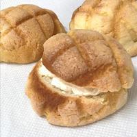 クリームサンドメロンパン - *やまぼうし* 毎週金曜日小屋営業