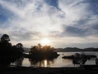 檜原湖の夕景 - 光の音色を聞きながら Ⅳ