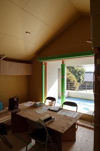 足場が取れました/太子堂の家 - 村田淳建築研究室 つれづれ