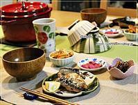 今夜はなんちゃって松茸ごはんと真鯖の塩焼き♪ - ☆Happy time☆