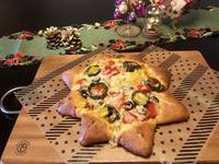 『星型ピッツア』と『トマトのハニーブレッド』レッスン - カフェ気分なパン教室  ローズのマリ