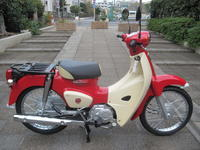 気になるスーパーカブ60TH部品 - バイクの横輪