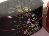 古風ですが、美しい蒔絵のお弁当箱 - 秋田 蕗だより