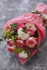 誕生日にはピンクのバラを - Chouquettes