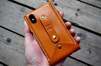 iphone Xs leather case custom - S&Mな日々