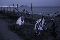 第884回   夕暮れ茅ヶ崎 - 湘南群青 -The sunset  blue -