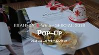 """BRAHMIN ❅ Winter SPECIAL POP UP 2018!明日11/23friより...11/22thui"" - SHOP ◆ The Spiralという館~カフェとインポート雑貨のある次世代型セレクトショップ~"